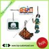 New design soft PVC zipper pull for advertising gift
