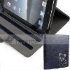 Newest leather case for iPad 2 Treetop leather case in genuine leather with diamond--Hot selling!!!