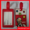 Novelty Soft PVC Luggage Tag