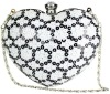 OEM Many Colors Sequin Heart Evening Clutch Bag 063