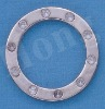 Ornament o ring ,bag buckles,round buckles for bags,garments