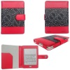 PU/leather case for Amazon kindle touch