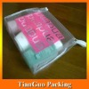 PVC Travel Pouch, Clear PVC Packaging Pouch