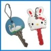 PVC key with cover