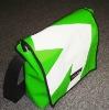 PVC tarpaulin shoulder bag