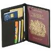 Passport wallet with card holder