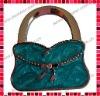 Pink Enamel Clip Purse Shaped Bag Hanger/Purse Hooker/Handbag Hook/Purse Holder/Handbag Purse Caddy