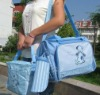 Polyester Diaper Bag Baby Diaper Bag Nappy Bag