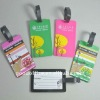 Popular promotional gifts - 3d pvc luggage tag