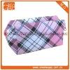 Pretty clutch pink small polyester ziplock check mini cosmetic bag