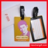Promotion travel bag silicon luggage tag-bag tag