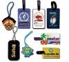 Promotional custom soft pvc luggage tag