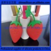 Promotional gift 2012 silicone strawberry purse