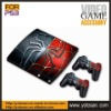 Protective skin sticker for ps3 slim console