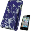Purple For iPod Touch 4 Case Cover