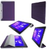 Purple Leather Accessory For Samsung Galaxy Tab 10.1 P7500 P7510