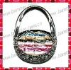 Purse Shaped Bag Hanger/Bag Shaped Handbag Hook with Leather