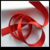 Red flat nylon webbing for luggage straps
