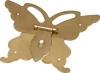 Sellers metal butterfly clasp archaize box type used for archaize box, wooden cases, iron box, etc