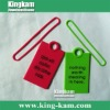 Silicone Print Hang Label Tag