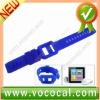 Silicone Watch Wrist Band Case for iPod Nano 6 6G 6TH GEN