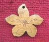 Slap-up flower shape garment tag
