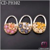 Smal size diamonds mirror bag hook CD-PH102