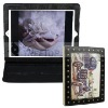 Special design leather case for ipad 2 (OEM)--Hot selling!!!