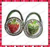Strawberry Designed Foldable Bag Hanger Hook/Purse Hook Hanger/Handbag Holder/Purse Caddy