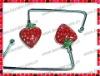 Strawberry Shaped Unfoldable Bag Hanger/Purse Hook