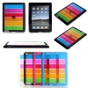 TPU Gel Raibow For ipad 2 housing