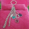 Tassel chains bag/keychain charms