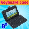 """USB Keyboard & Leather Case for 8"""" Tablet MID ePad PC"""