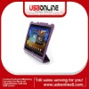 Ultra Slim Leather Smart Cover Case Stand For Samsung Galaxy Tab 8.9 P7300 P7310(Purple)