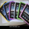 Very soft touch silicone cover for ipad 2
