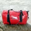 Waterproof duffle bags, high quality ABS Plastic Clip or Velcro Closure design,protect from spray, rain, dirt, sand.