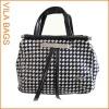 White PU Satchel Lady Handbag