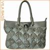 Yellow Classic Messager Handbag for Ladies