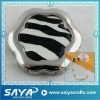 Zebra bag hanger