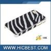 Zebra-stripe Pattern Hard Plastic Case Cover for iPhone 4