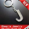 Zinc alloy Letter keyring with top quality plating(CK0096)