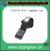 adjustable polyester luggage belt with id card holder