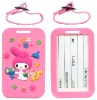 adorable luggage tag rubber product