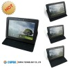 black Leather Case smart cover stand for asus tf201