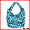 blossom canvas cotton ladies lunch bags for wholesale