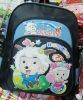 cartoon student backpack