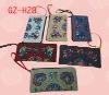 chinese style line wallet bag with beautiful pattern ,jute wallet bag