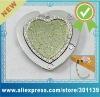 crystal heart handbag hanger