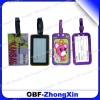customized pvc luggage tag
