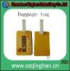 customized soft pvc luggage tag